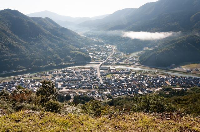 竹田城跡からの眺め