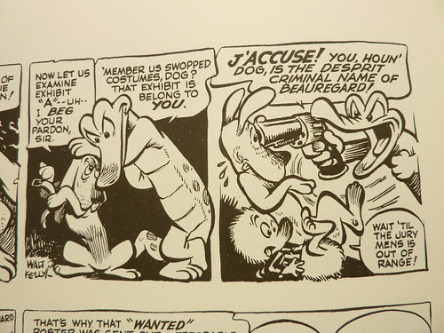 "Pogo - Vol. 1 of the Complete Syndicated Comic Strips: ""Through the Wild Blue Wonder"" by Walt Kelly - detail"