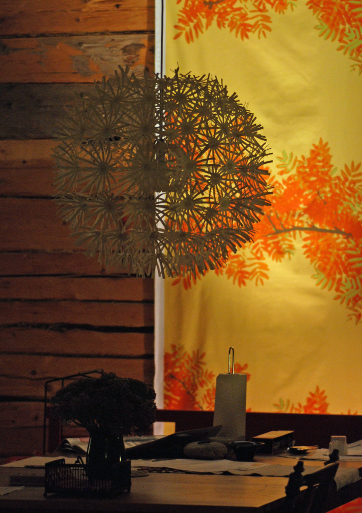 Dandelion Puff Dining Table Lamp - November 3/30