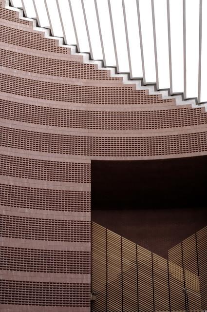 cath drale d 39 evry d tail de l 39 int rieur le buffet d 39 orgue architecte mario botta essonne. Black Bedroom Furniture Sets. Home Design Ideas