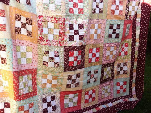 Forgotten quilt top