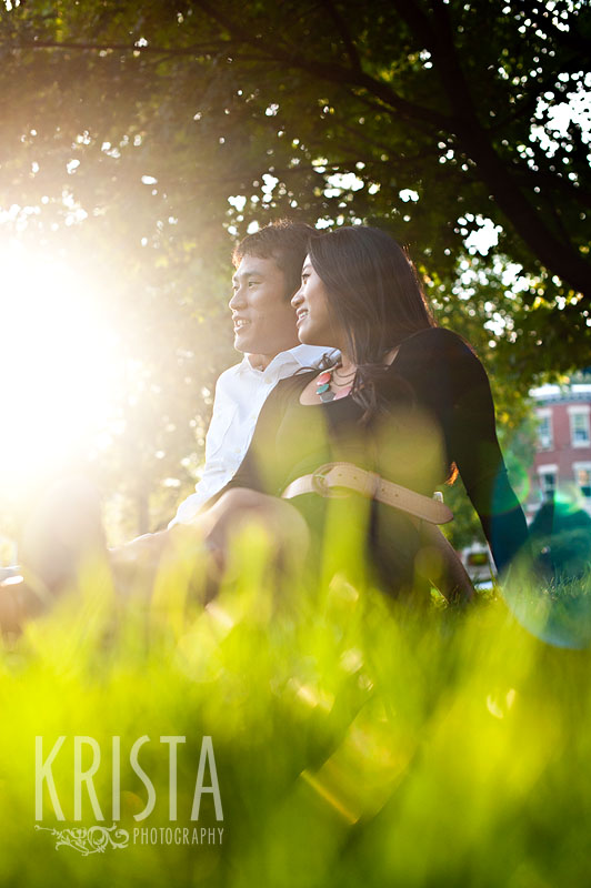 Coolidge Corner Engagment Session