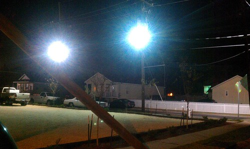 Rock N Bowl Prison Yard Lighting