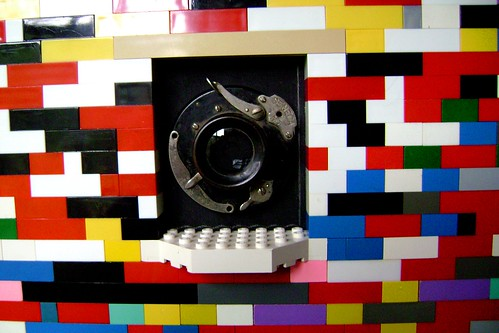 8 x 10  Large format lego camera by cool-baby