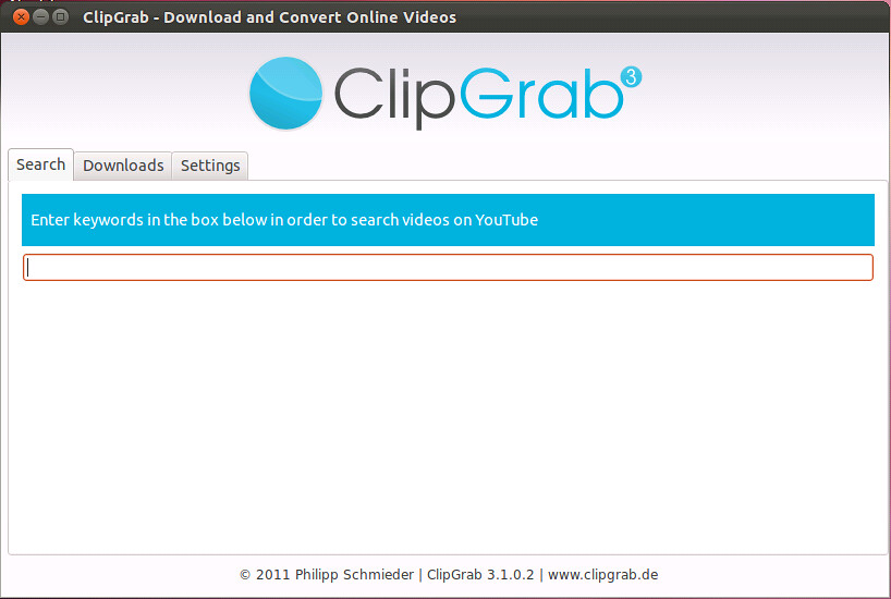 clipgrab mp3 converter Windows