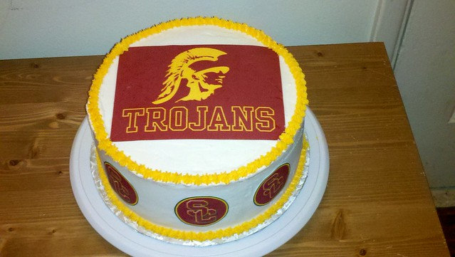 Usc Birthday Cake Images : photo