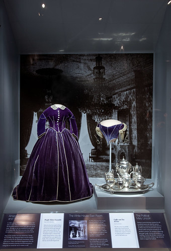 Mary Lincoln's Purple Velvet Ensemble