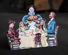 Miniature paper dolls