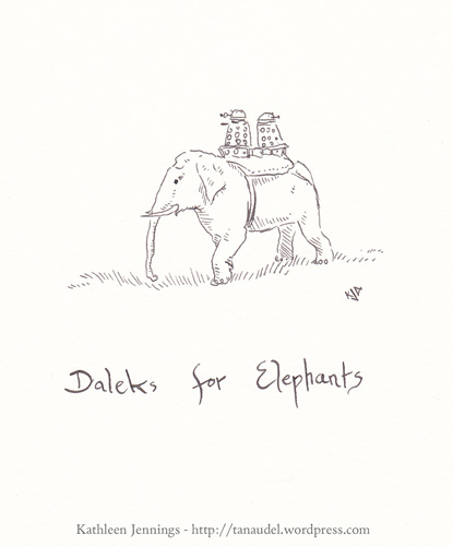 Daleks for Elephants