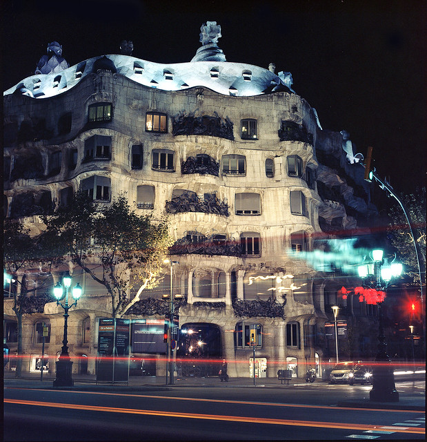 Travel In Spain Barcelona Architecture Tour: I've Heard That This Building Was