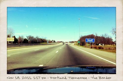 Crossing the TN-KY Border