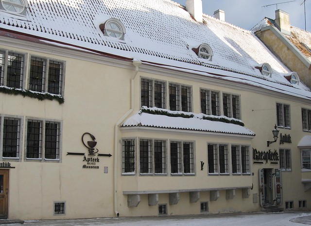 15th century pharmacy, Raekoja Square, Tallinn