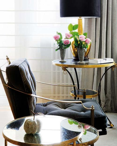Black And Gold Living Room Images: Nuevo Estilo {eclectic Classic Traditional Art Deco