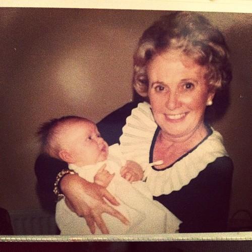 my granny & me.. #oldphotos