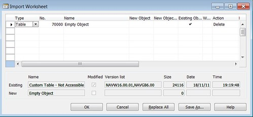 6379004291 ba3a4851a0   How to Delete Obsolete Dynamics NAV Objects?