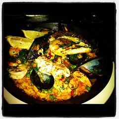paella, food, dish, cuisine, mussel,