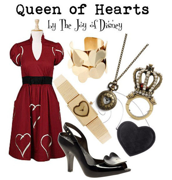 Inspired by: Queen of Hearts -- Alice in Wonderland