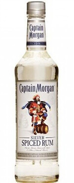 Captain morgan silver spiced rum mixed drink lab for Mix spiced rum with