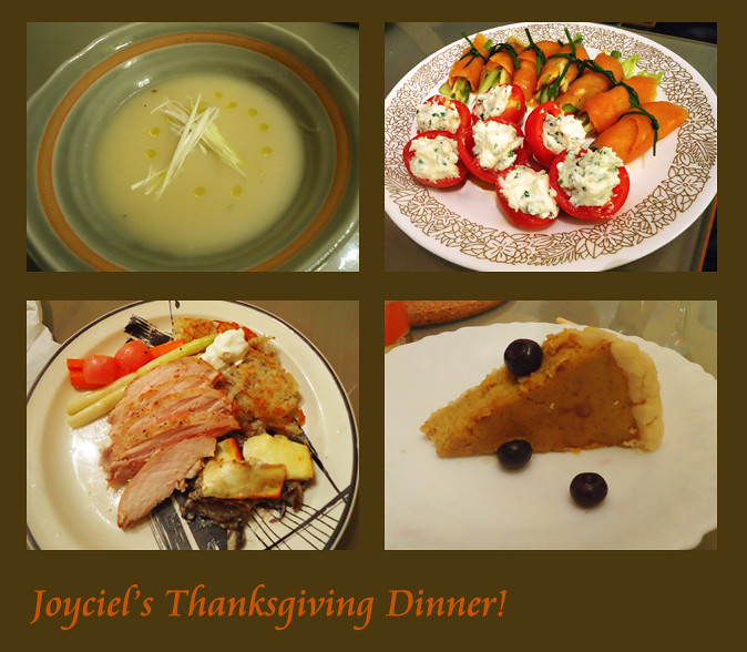 joyciel's thanksgiving dinner