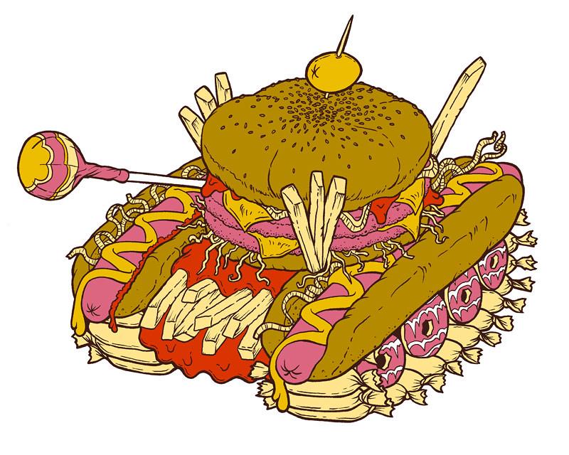 Junk Food Tank
