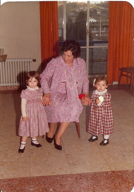 Paula e máis eu coa avoa Marilde