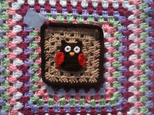 What a cute Owl too! Thank you so much! They are great Squares!