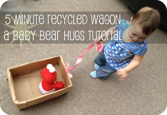 5 minute recycled wagon tutorial