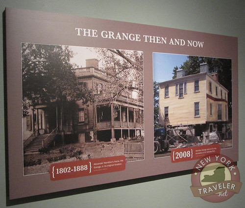Grange Then and Now Plaque