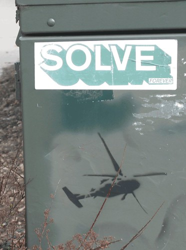 SOLVE Forever - Military Helicopter