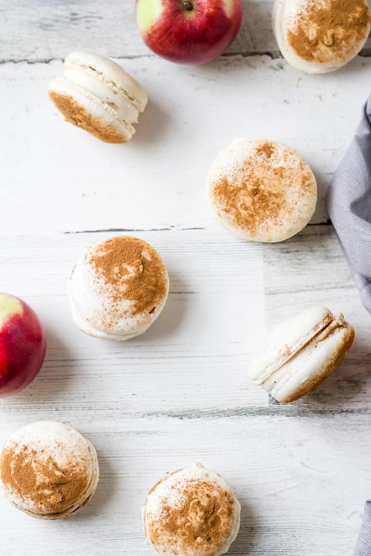 Apple Cinnamon Macarons